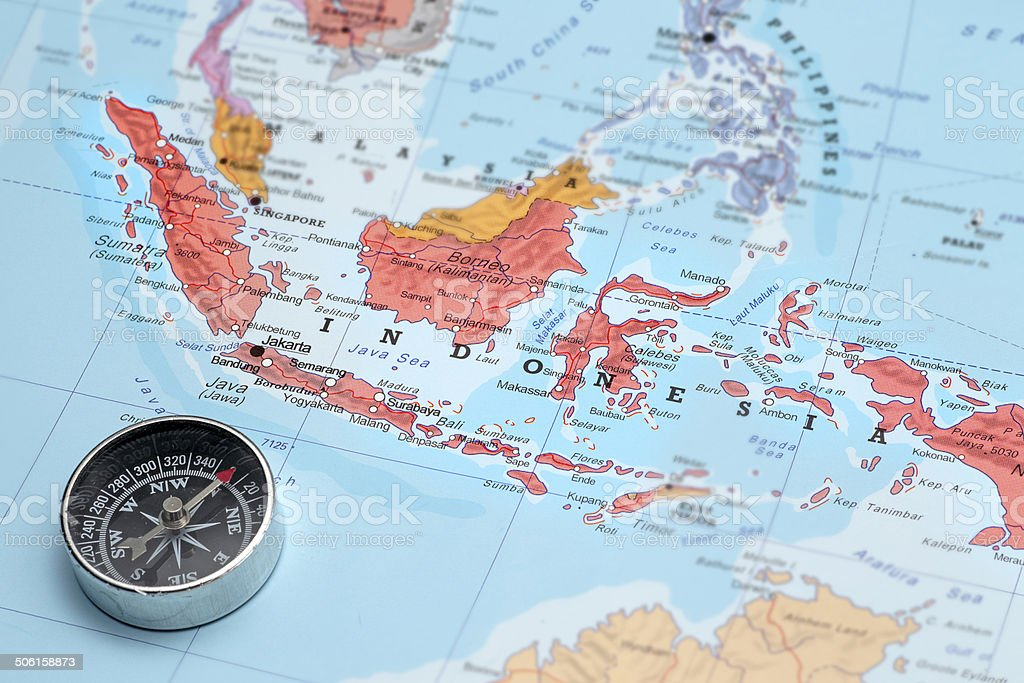 Royalty Free Indonesia Map Pictures, Images and Stock Photos - iStock