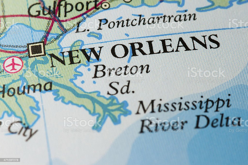Travel Destination: New Orleans royalty-free stock photo