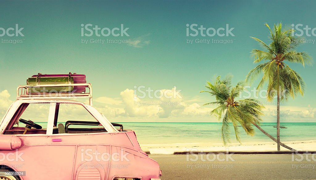 Travel destination stock photo