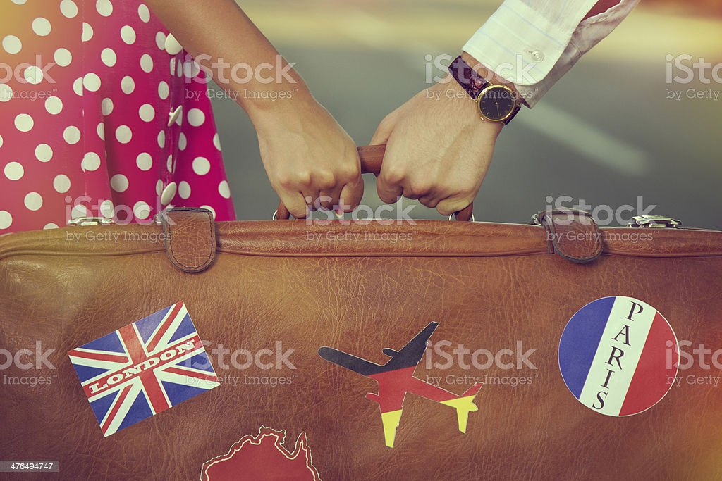 Travel detail stock photo