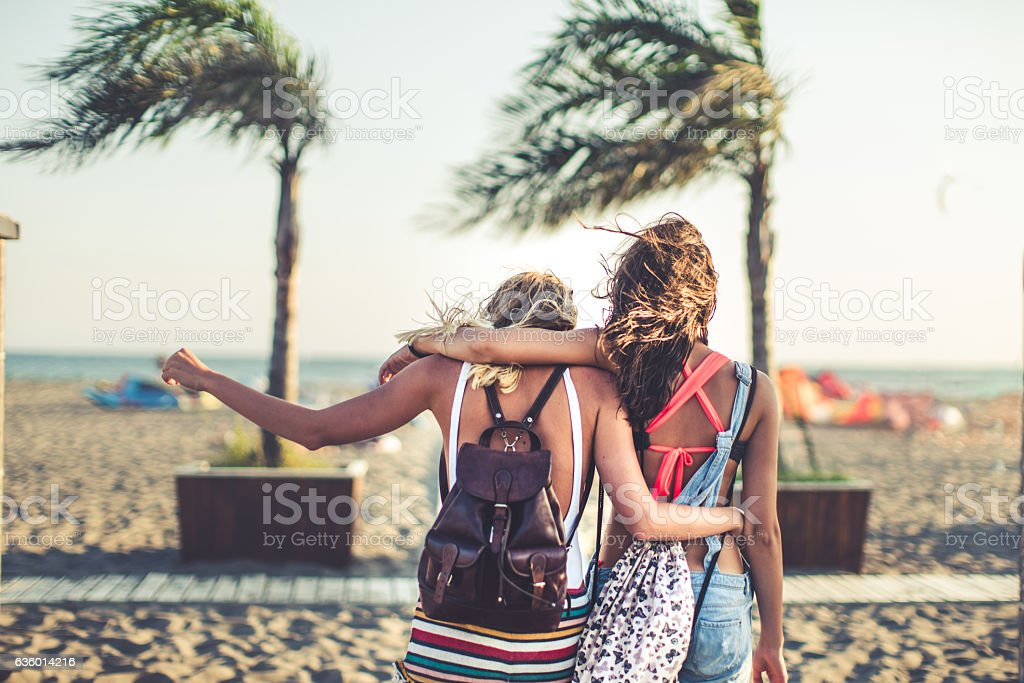 Travel, enjoy,and have fun stock photo