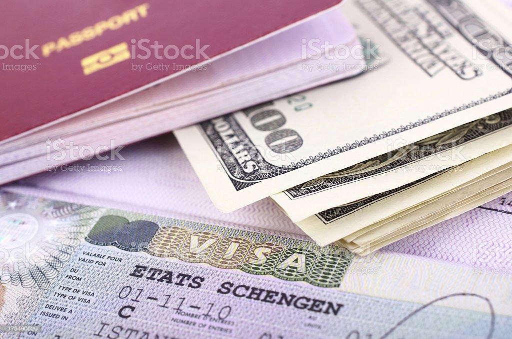 Travel Expenses royalty-free stock photo