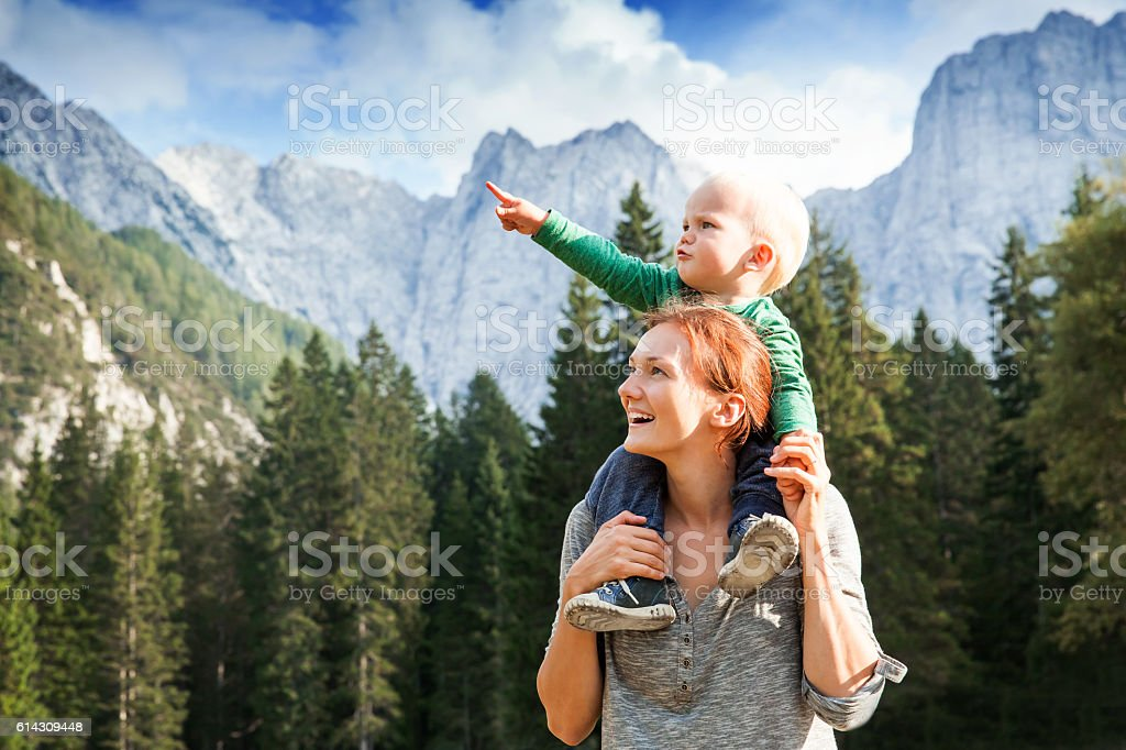 Travel, Explore, Family, Future Concept stock photo