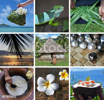 istock Travel Fiji postcard 827901612