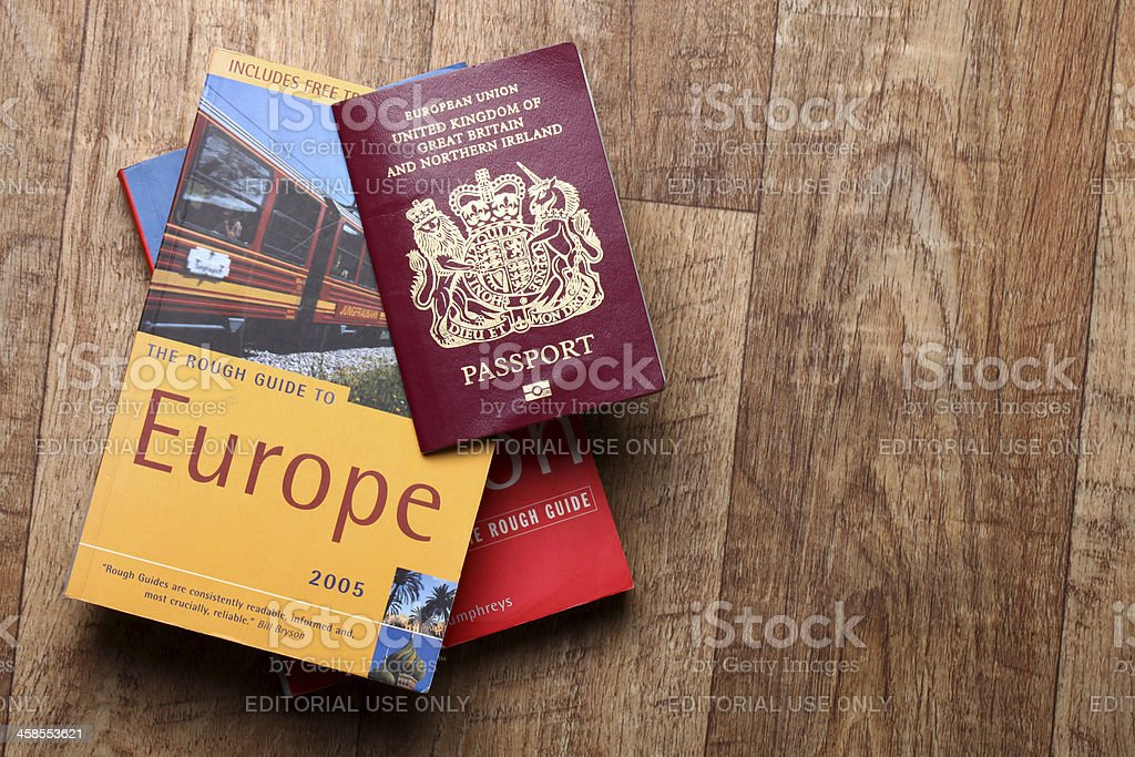 Travel guide - Europe stock photo