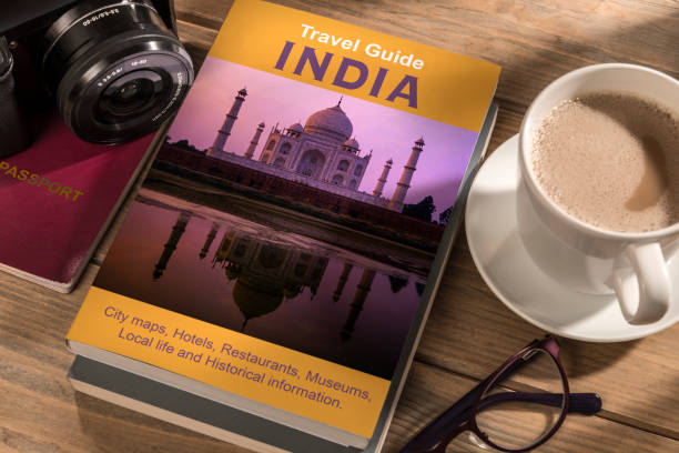 Travel Guide India stock photo