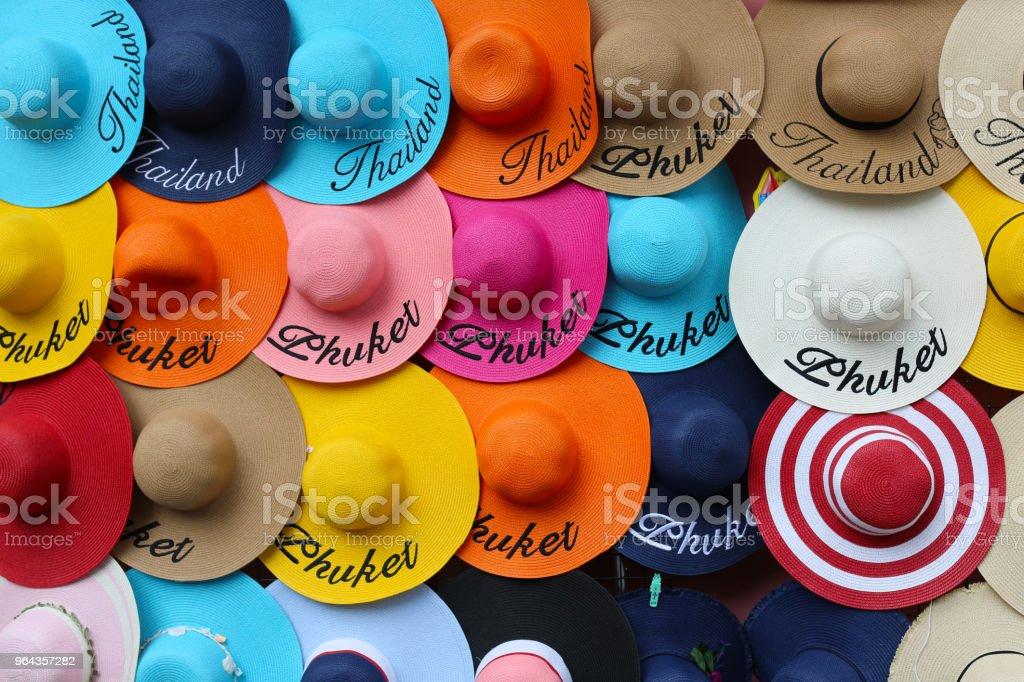 chapéu de viagem, Tailândia - Foto de stock de Adulto royalty-free