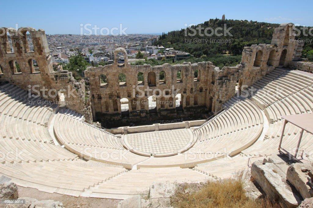 Travel in Athenes stock photo