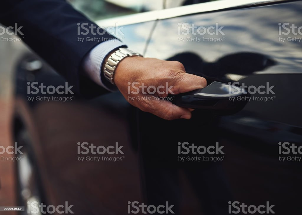Travel in top class style stock photo