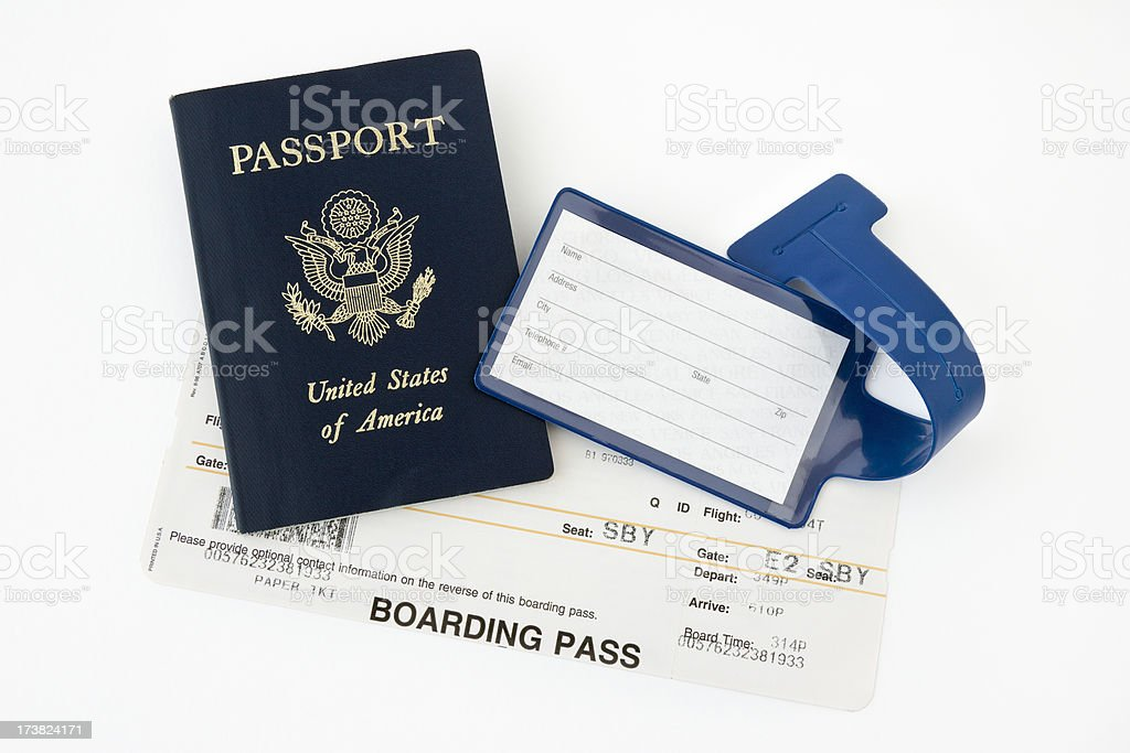 Travel Items royalty-free stock photo
