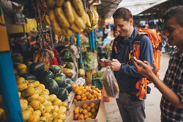 viajes como locales - comida india fotografías e imágenes de stock