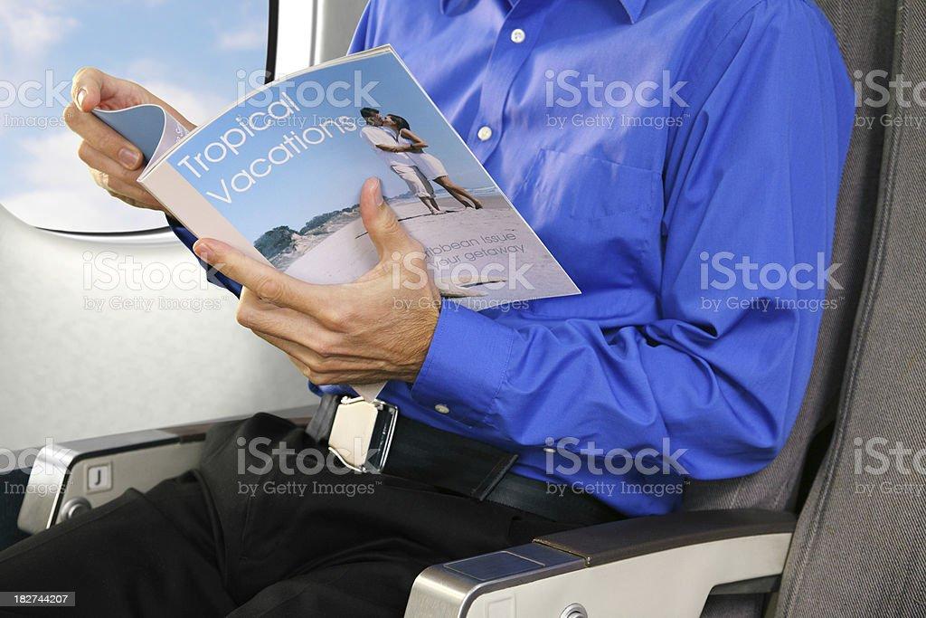 Travel Magazine royalty-free stock photo