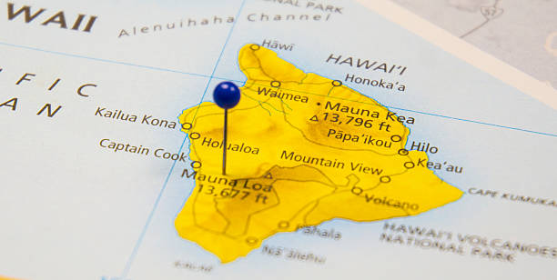 Macadamia Nut Plant Fire Causes $105,000 in Damages | Big ... |Mauna Loa World Map
