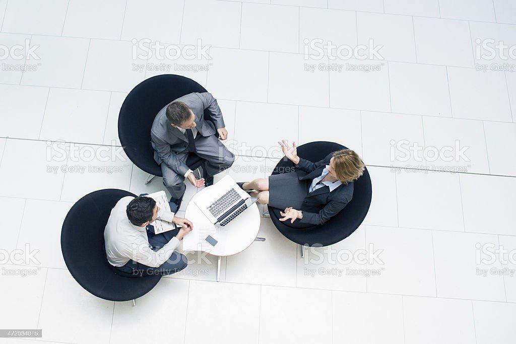 Travel meeting stock photo