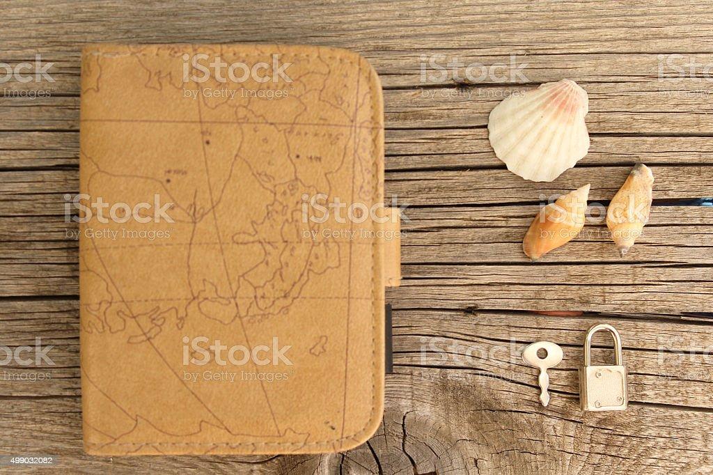 Travel memories concept stock photo