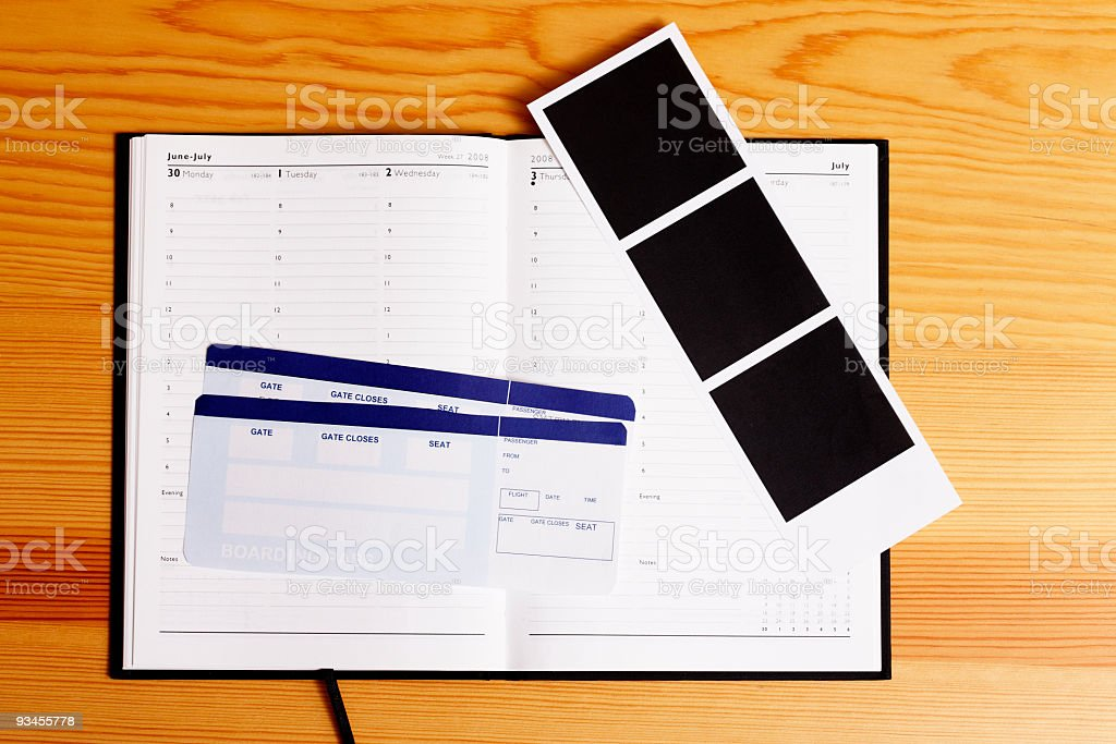 Travel Memory Kit stock photo