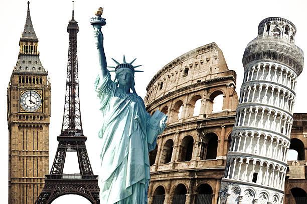 Travel Monuments stock photo