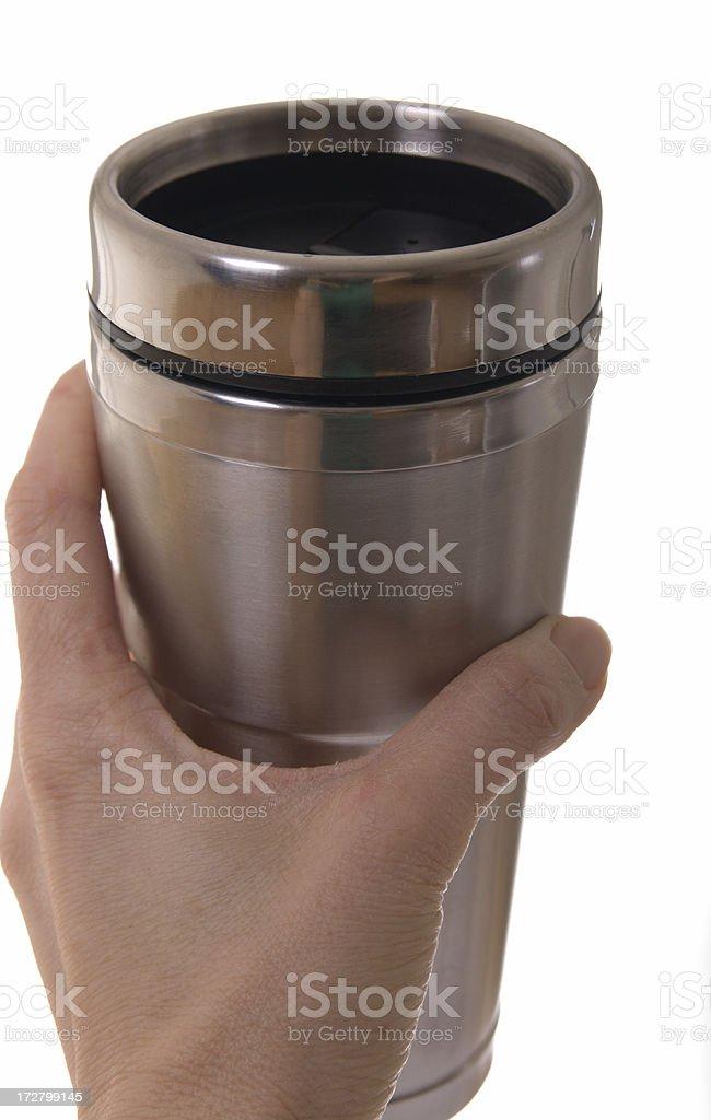 Travel Mug royalty-free stock photo