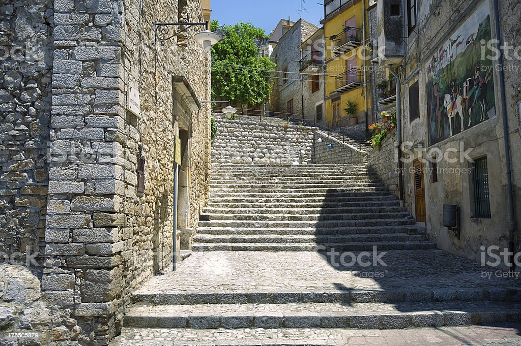 Travel Photo from Caccamo stock photo