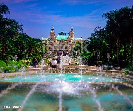 Monte Carlo Place du Casino Square View, Principality of Monaco