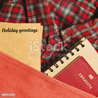 istock Travel preparations concept 865910022