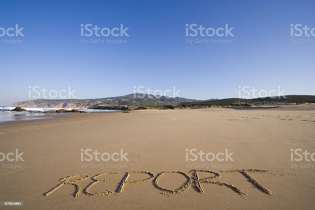 Travel report royalty-free stock photo