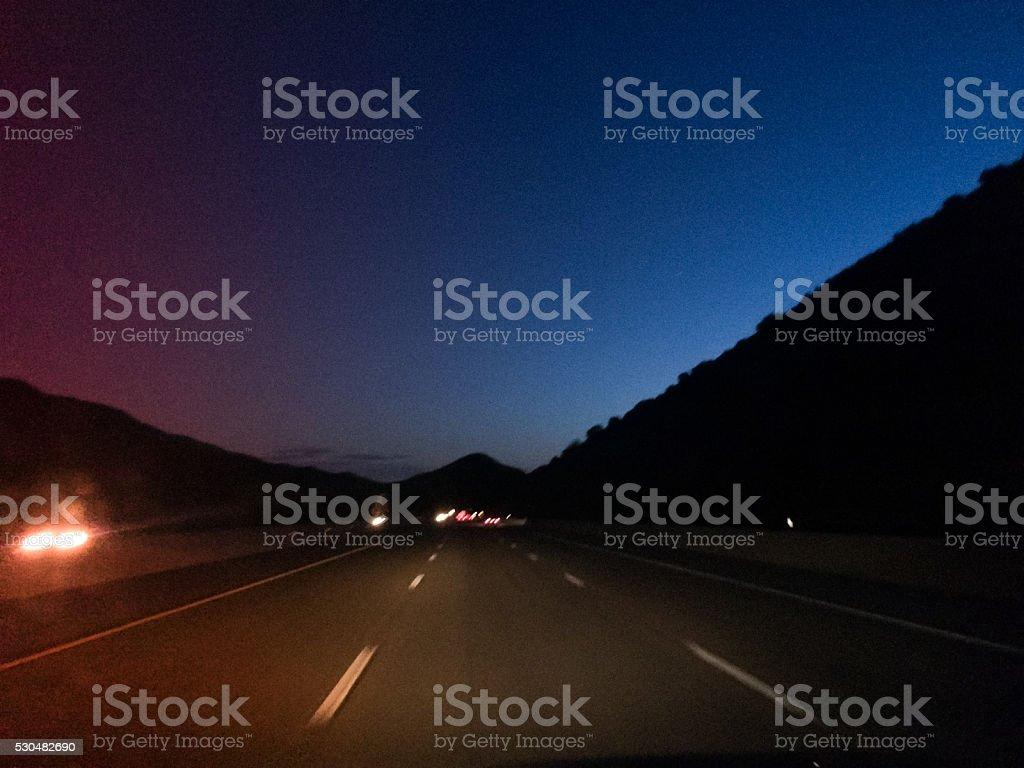 travel road trip inspiration stock photo