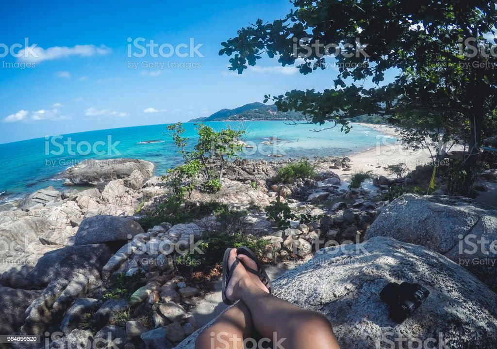 travel Sea and island dive koh samui royalty-free stock photo