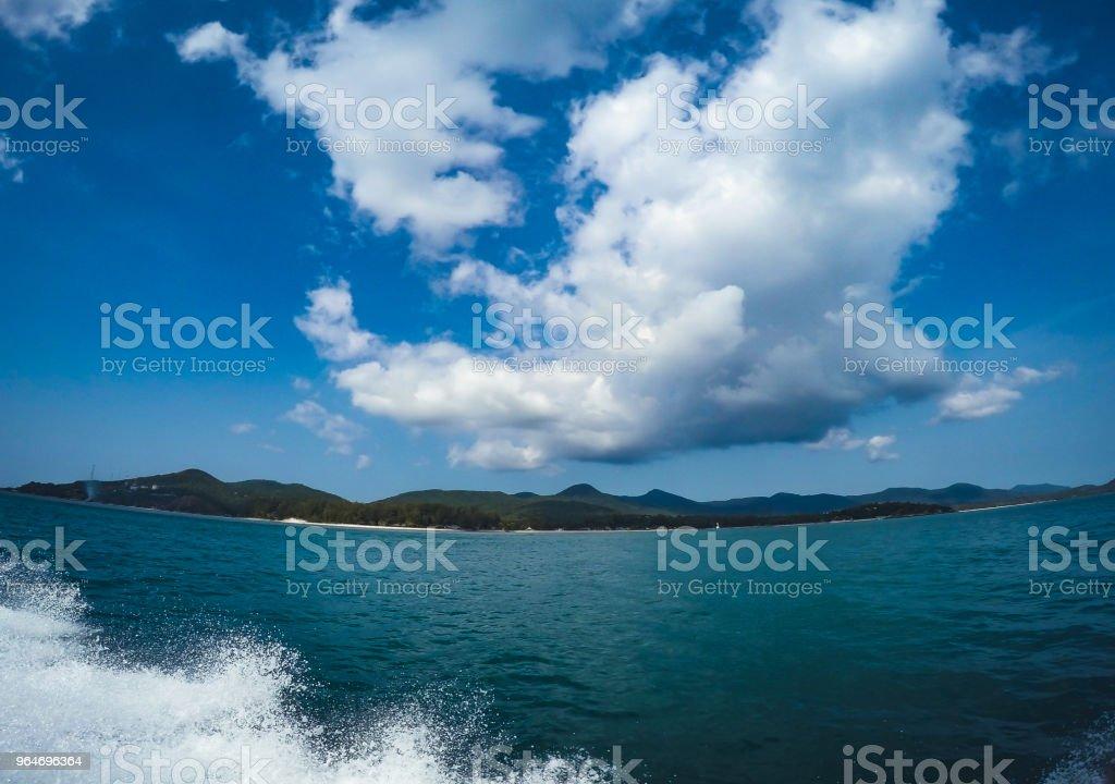 travel Sea and island dive koh samui royalty-free stock photo