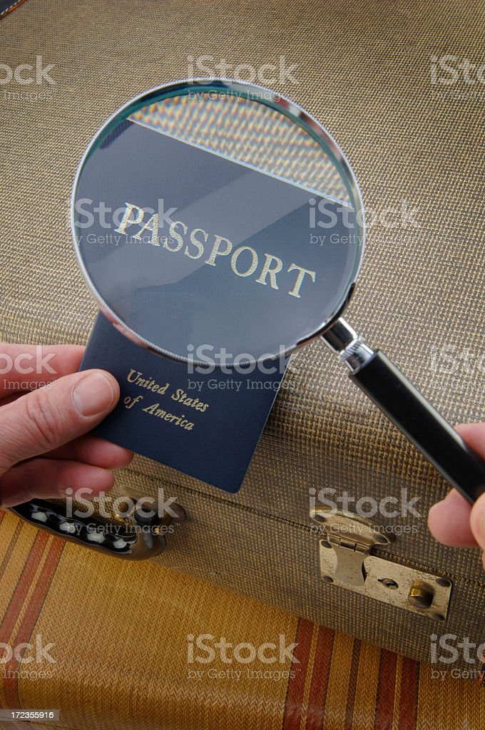 Travel Security royalty-free stock photo