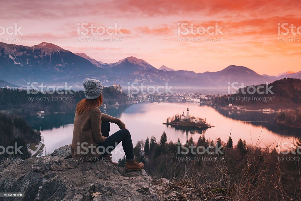Travel Slovenia, Europe. stock photo