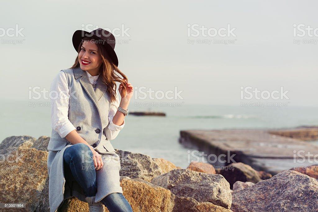 Travel spirit stock photo