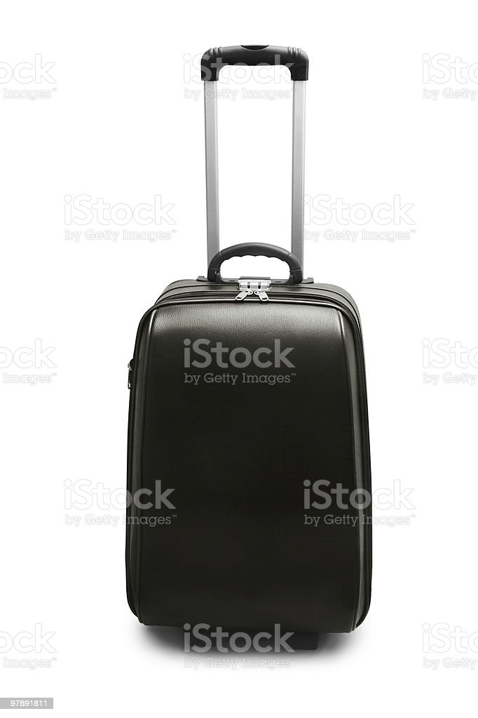 Travel suitcase royalty-free stock photo
