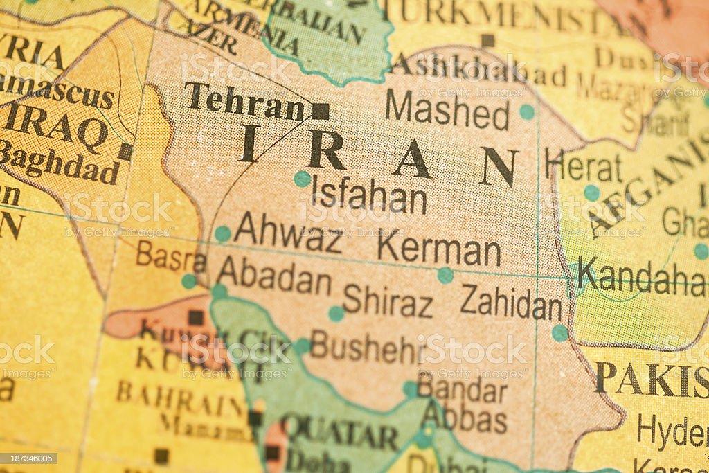Travel The Globe Series - Iran royalty-free stock photo