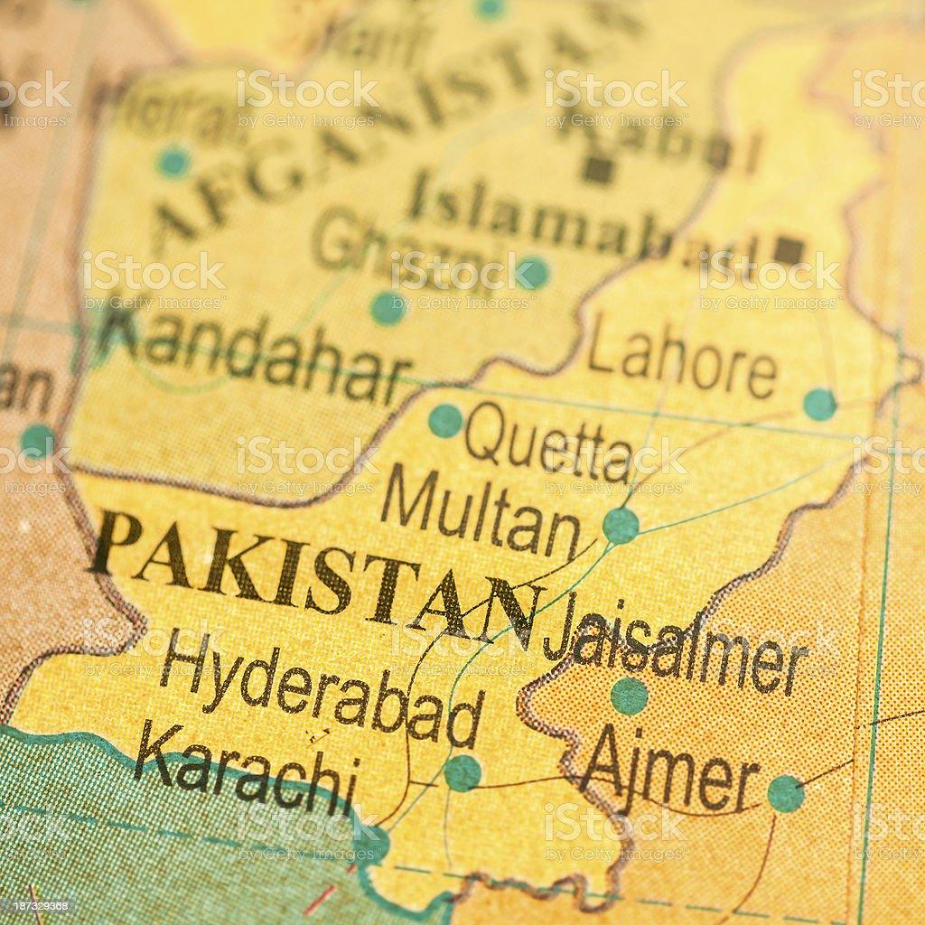 Travel The Globe Series - Pakistan royalty-free stock photo