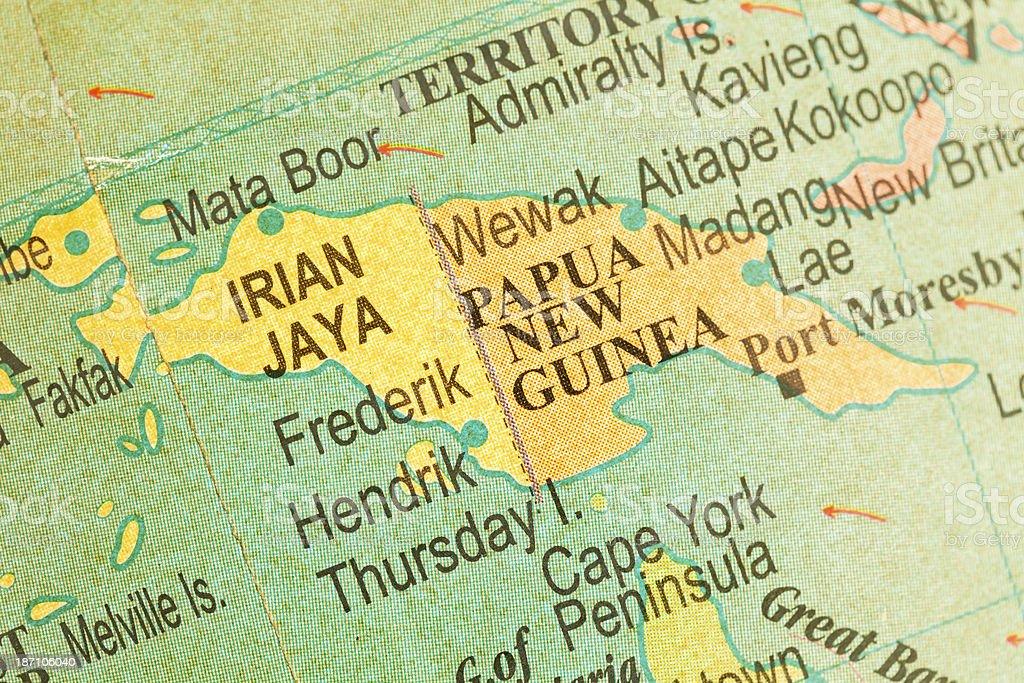 Travel The Globe Series - Papua New Guinea royalty-free stock photo