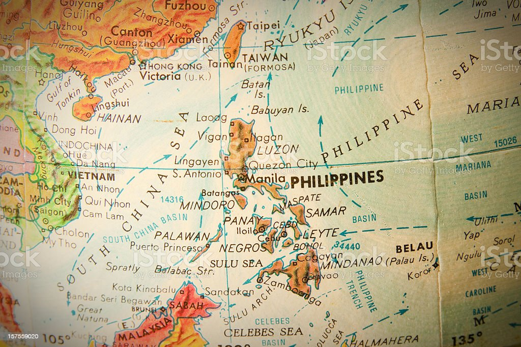 Travel the Globe Series - Philippines royalty-free stock photo