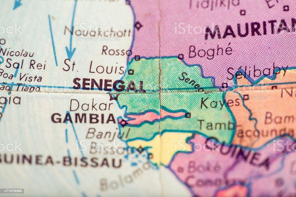 Travel The Globe Series - Senegal stock photo