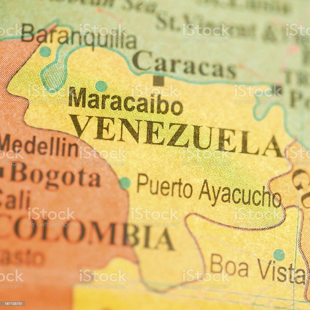 Travel The Globe Series - Venezuela royalty-free stock photo