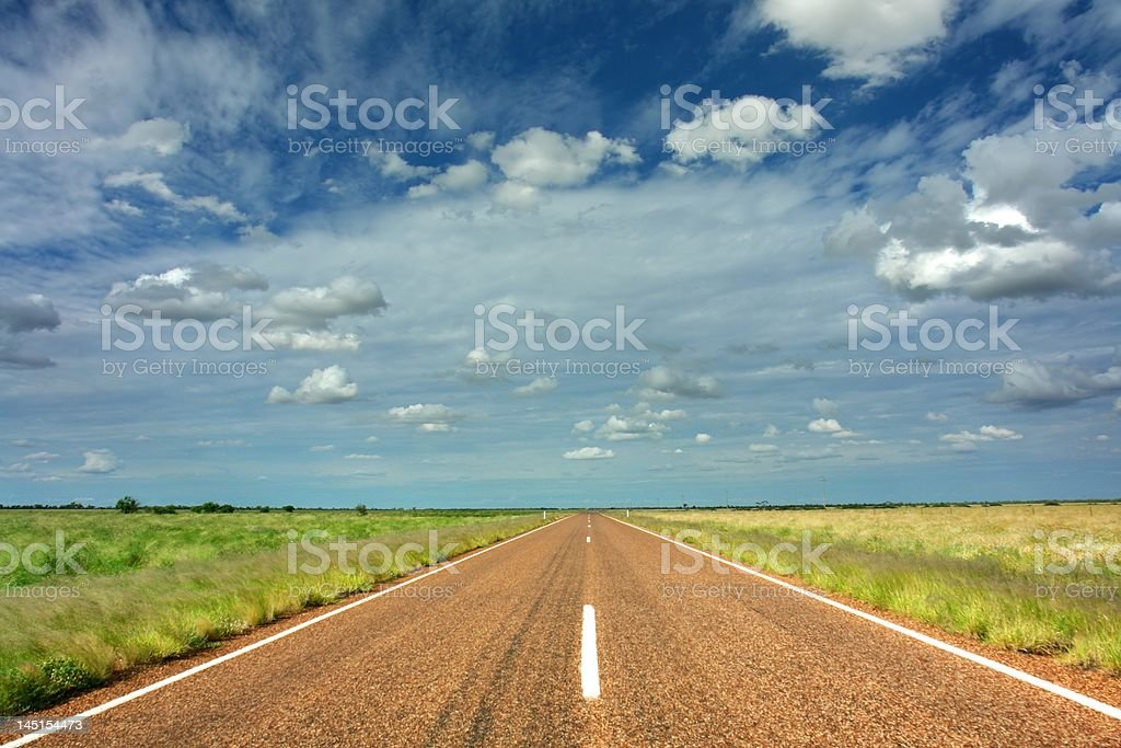 Travel The Outback royalty-free stock photo