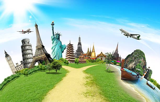 Reisen Sie das Welt-Denkmal-Konzept – Foto