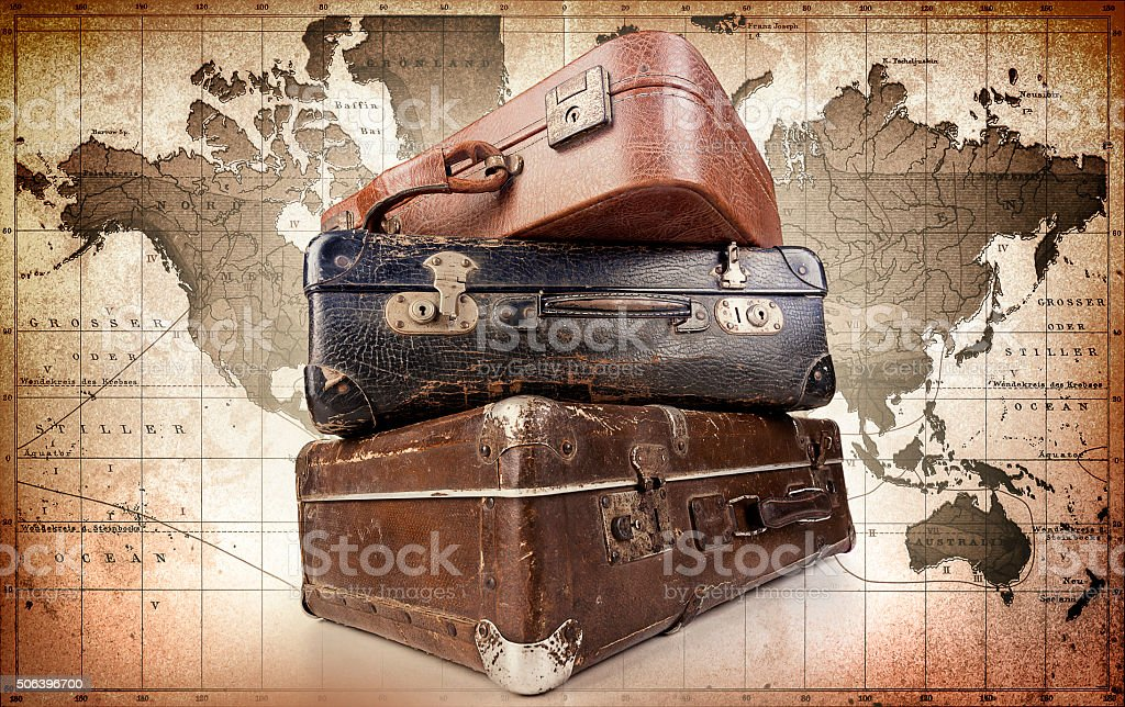 Travel time stock photo