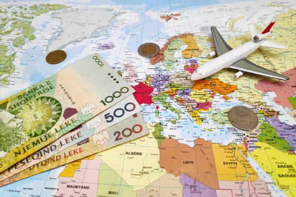 Travel to Albania stock photo
