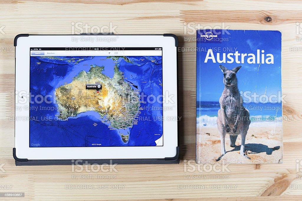 Travel to Australia royalty-free stock photo