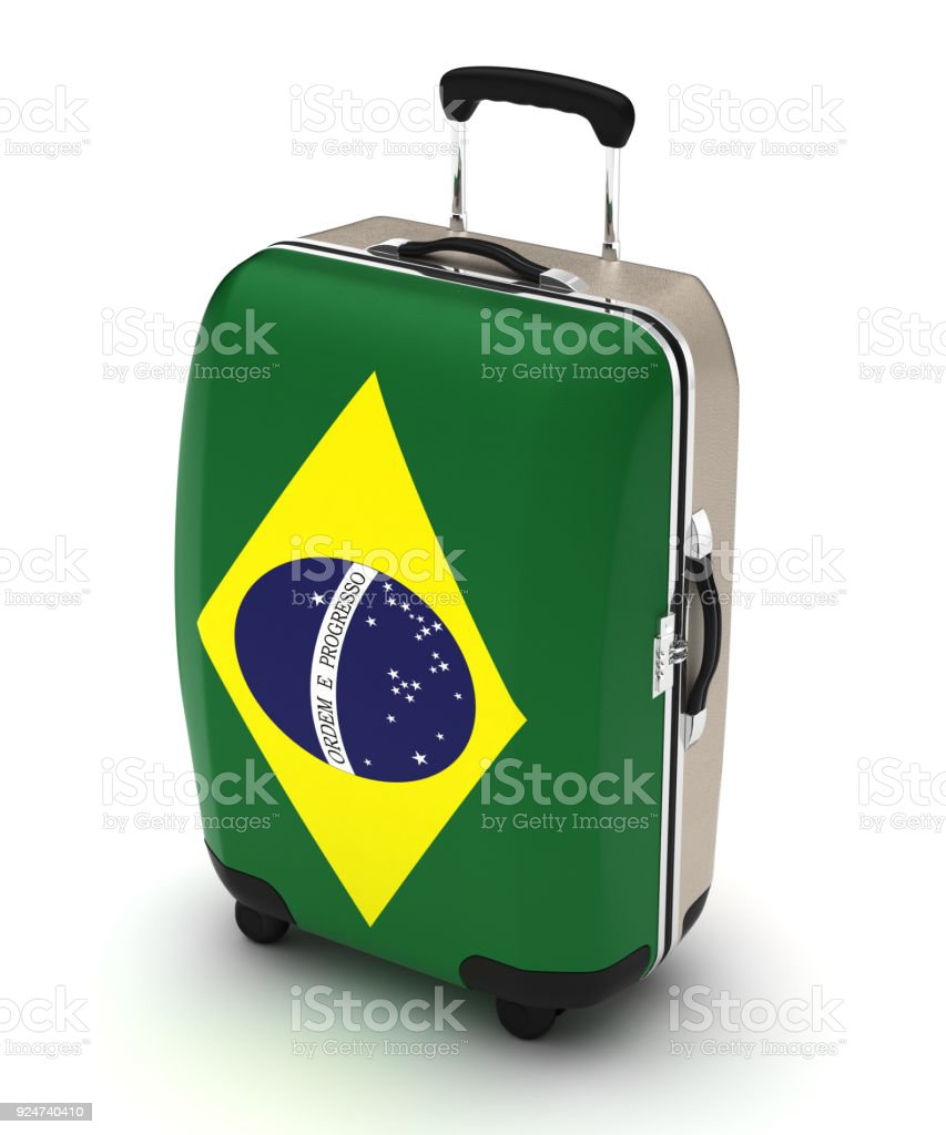 Travel to Brazil stock photo