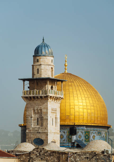 Travel to Israel and discover the beauty - Dome of the Rock Traveling around Middle East and discovering beauties of Israel. Israel is mix of east and west, modern and traditional, cheap and expensive. dome of the rock stock pictures, royalty-free photos & images
