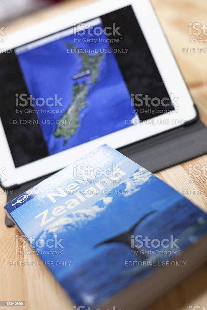 Travel to New Zealand royalty-free stock photo