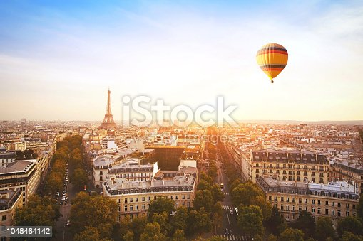 istock travel to Paris, France 1048464142
