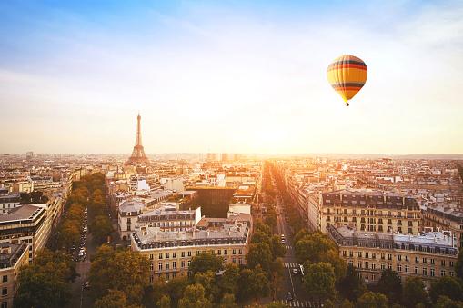 istock travel to Paris, France 1048464142