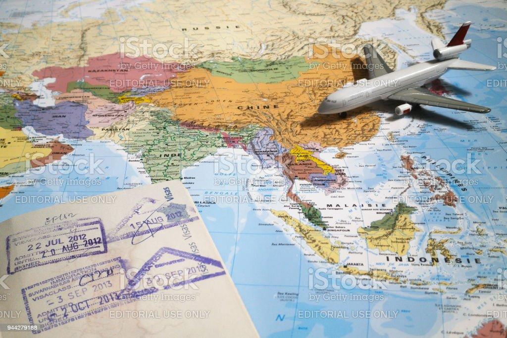 Travel to Thailand stock photo